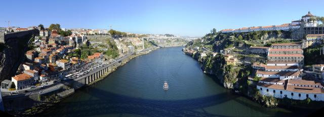 View from Luís I Bridge